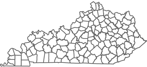 Kentucky Health Facts Data By Topic Prevalence Of Hypertension - Ky county map